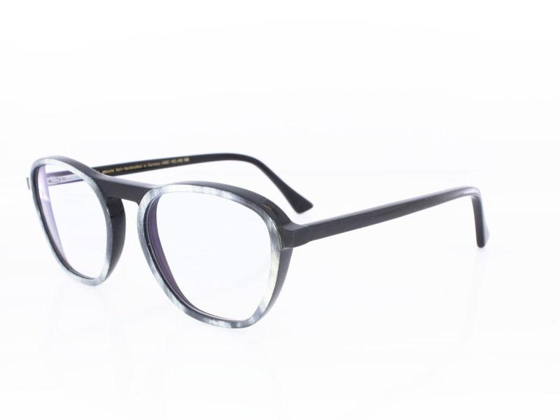 Hoffmann Ralph Vaessen Hans weiß-grau-strukturiert schwarz poliert