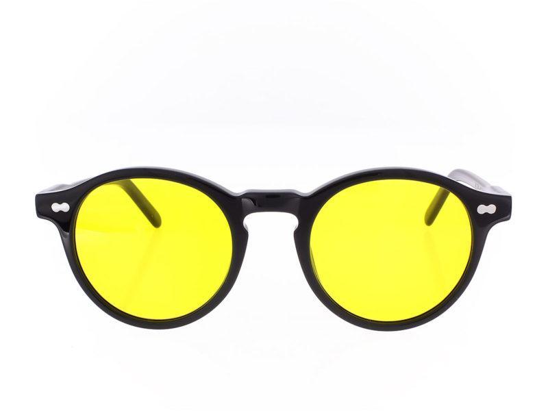 Moscot Miltzen Base 2 Sun black mellow yellow 49-22